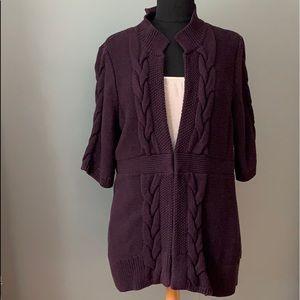 Ann Taylor Loft 3/4 Sleeve Cardigan
